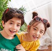 兒童太陽鏡男女童眼鏡偏光潮女寶寶墨鏡時尚防紫外線男童個性小孩