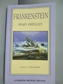【書寶二手書T4/原文小說_GCU】Frankenstein_Mary Wollstonecraft Shelley