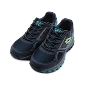 LOTTO CROSS RUN 越野跑鞋 藍綠 LT9AWR1056 女鞋