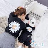 小雛菊親子裝一家三口夏季母子母女純棉T恤全家裝【奇趣小屋】