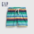 Gap嬰兒 布萊納系列 清爽條紋透氣短褲 939854-彩色條紋