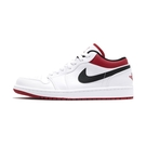 Nike Air Jordan 1 Low 男 黑白紅 經典 喬丹 籃球 休閒鞋 553558-118
