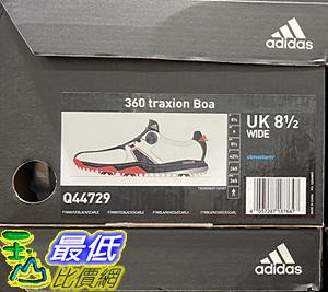 [COSCO代購] C123193 ADIDAS GOLF FOOTWEAR 愛迪達男高爾夫球鞋 360 TRAXION BOA系列