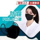 MIT台灣製造-防霾PM2.5口罩(3入...
