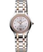 ENICAR 英納格 典藏時尚晶鑽石英女錶-銀x雙色版 263-31-128GS