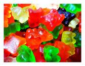 年貨大街 ‧散糖軟糖區‧ 泰迪熊造型 小熊QQ軟糖 600g(一斤)【合迷雅好物超級商城】