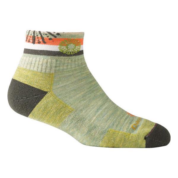 [DARN TOUGH] Daphne 1/4 Sock Cushion 休閒短襪 女 Cactus (DT1915-CACT)