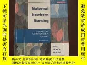 二手書博民逛書店Maternal-Newborn罕見Nursing A Fami