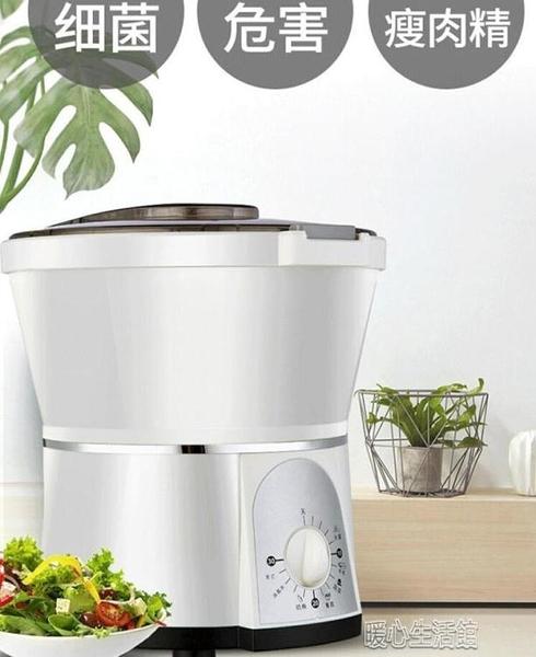 果蔬臭氧機 去農殘果蔬凈化器高的家用廚房洗菜機蔬菜水果消毒器食YJT 暖心生活館