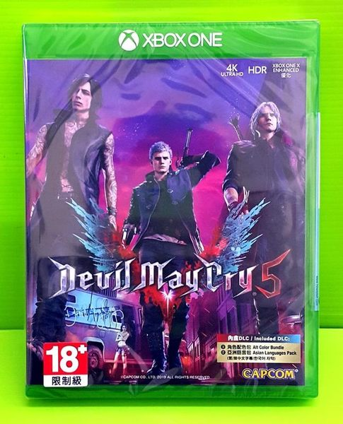 現貨 Xbox one 惡魔獵人5 中文一般版