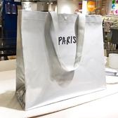 購物袋銀色旅行防水裝折疊便攜手提環保購物袋女包