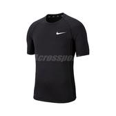Nike 短袖T恤 Pro Training Top 黑 白 緊身衣 運動 訓練 【PUMP306】 BV5634-010