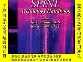 二手書博民逛書店Spine罕見Technology HandbookY364682 Kurtz, Steven M., Dr.