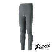 Polarstar 台灣製造 中性保暖長褲(內穿)『沙灰』P17435 排汗│MIT│透氣│保暖│抗靜電
