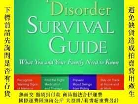 二手書博民逛書店The罕見Bipolar Disorder Survival Guide, Second EditionY36