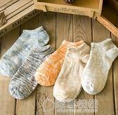 日系隱形襪純棉線男襪船襪男人潮短襪全棉男士襪子夏天粗線民族襪   草莓妞妞