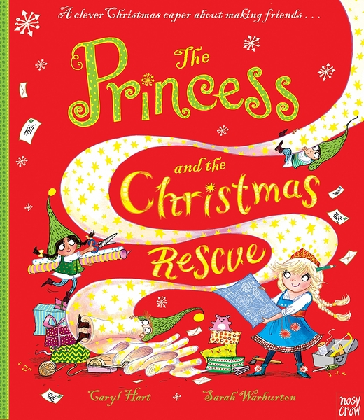 【麥克書店】PRINCESS AND CHRISTMAS RESCUE /平裝繪本 (免費線上聽故事)