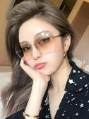 太陽鏡-沙灘墨鏡女海邊度假必備用品的泰國適合方臉 花間公主