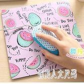 家用新款舒潮流流耐用創意可愛滑鼠墊布手腕鼠標墊 JH712『俏美人大尺碼』