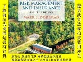 二手書博民逛書店Introduction罕見To Risk Management And Insurance (8th Editi