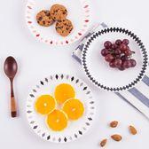西餐盤骨瓷水果盤陶瓷餐盤平盤蛋糕早餐菜盤【步行者戶外生活館】