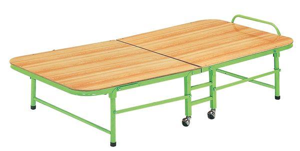 【森可家居】角管折床(綠色) 7JX65-3