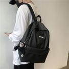 後背包 書包男潮牌嘻哈時尚潮流韓版男士雙肩包女學生日系簡約旅行背包男 交換禮物
