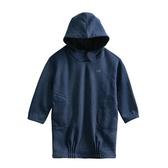『小鱷魚童裝』厚刷毛連帽針織洋裝(08號~16號)536360