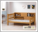 {{ 海中天休閒傢俱廣場 }} G-02 摩登時尚 臥室系列 094-4 白木3.7尺母床(含床邊櫃)