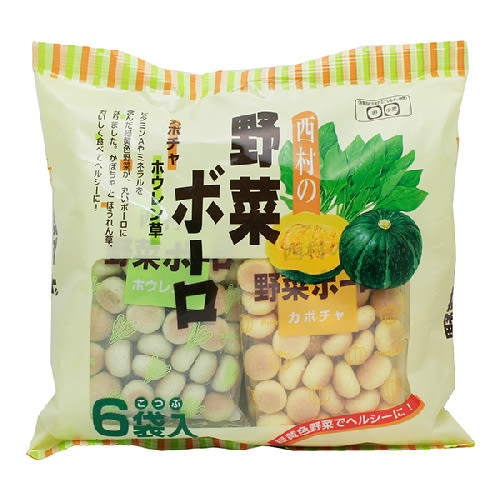 西村 - 幼兒野菜蛋酥(6袋入)