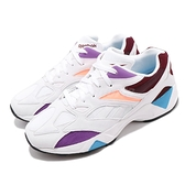 Reebok 復古慢跑鞋 AZTREK 96 白 紫 女鞋 運動鞋 【ACS】 DV9397