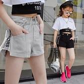女童牛仔短褲 女童牛仔短褲夏季中大童正韓洋氣薄款小女孩百搭潮流時髦兒童熱褲-Ballet朵朵