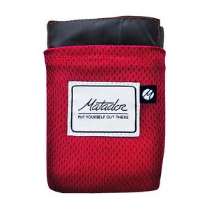 Matador Pocket Blanket 口袋型野餐墊紅色