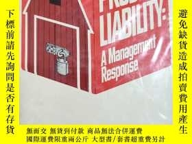 二手書博民逛書店PRODUCTLIABILITYA罕見Management Re