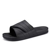夏季一字拖男士拖鞋潮流拖涼鞋防滑潮拖沙灘浴室室內厚底