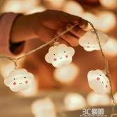 裝飾掛燈彩掛燈閃掛燈串掛燈星星掛燈春節過年少女心寢室房間布置 3C