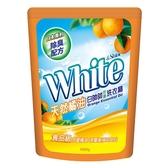 白帥帥天然橘油洗衣精補充包1650g【愛買】
