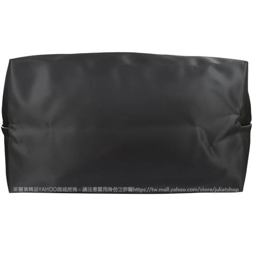 茱麗葉精品 全新精品 法國Longchamp Le Pliage Neo 折疊厚尼龍短把兩用包.深灰 大#1515