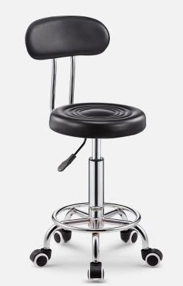 吧台椅酒吧椅子旋轉升降靠背家用高腳凳圓凳子時尚創意美容凳轉椅