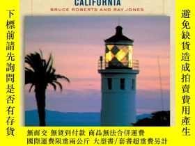 二手書博民逛書店Lighthouses罕見of California: A Guidebook and Keepsake (Lig