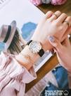 手錶 手錶女學生中高考考試專用指針式靜音防水公務員考場皮帶款石英表 美物 交換禮物
