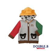 DOUBLE_B DB熊可愛連帽造型外套(多色)