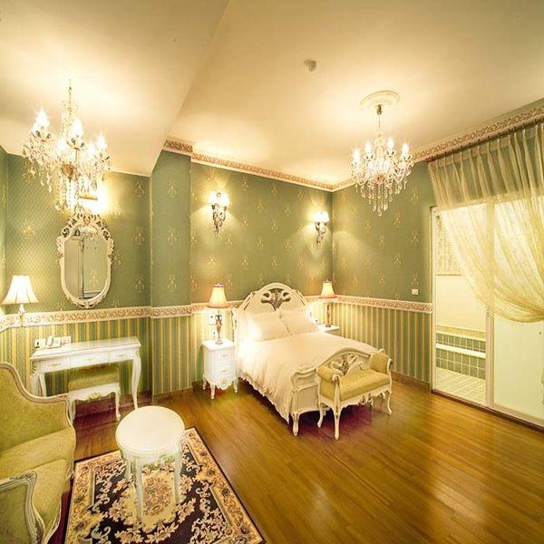 【清境】佛羅倫斯系列 - 君士坦丁堡。任選巴洛克藝術/歐洲庭園雙人房 - 一泊三食