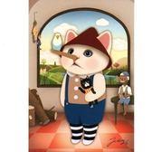 JETOY,Choo Choo 甜蜜貓第二代明信片_Pinocchio《生活美學》