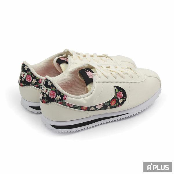 NIKE 女 CORTEZ BASIC LTR VF (GS)  阿甘鞋 慢跑鞋 - BQ5297100