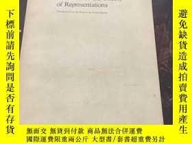 二手書博民逛書店Elements罕見of the Theory of RepresentationsY260873 A.A.K