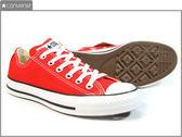CONVERSE~All Start~基本款紅色帆布鞋~(144807C)