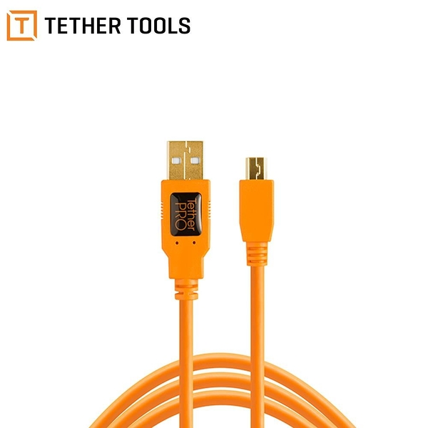 【南紡購物中心】Tether Tools CU5451 USB 2.0 轉 MINI B 5PIN
