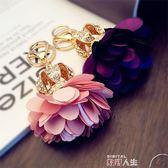 掛飾韓版水鑽皇冠汽車鑰匙扣 女款鑲鑽可愛花球包包掛飾小掛件 數碼人生