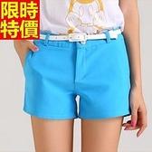 西裝短褲個性耀眼-糖果色休閒寬鬆女褲子6色66ai33【巴黎精品】